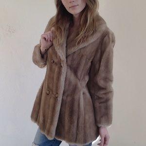 <VTG> Aleutian Dubrowsky & Joseph Faux Fur Coat